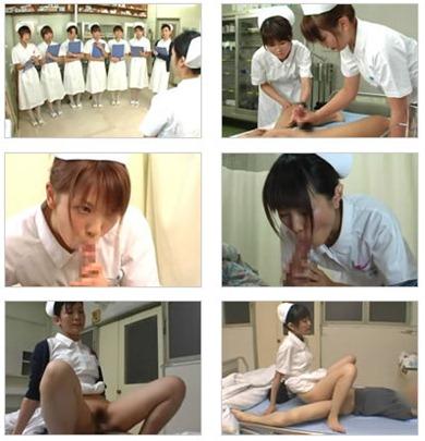 naughty nurses sharing patient at work